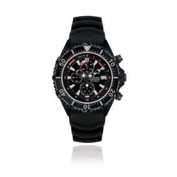 CHRIS BENZ DEPTHMETER CHRONOGRAPH 300M BLACK EDITION