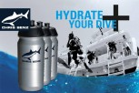 HYDRATE YOUR DIVE: Gratis CHRIS BENZ Trinkflasche