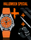 CHRIS BENZ DEEP 500M AUTOMATIC Halloween Special Set